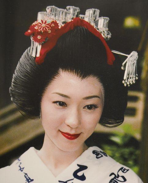 L\u0027endroit, très moderne, présente une exposition sur le Tokaïdo, bien sûr,  mais surtout différents coiffures japonaises,
